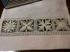 Cilaos embroidery by Gloria Zalunardo