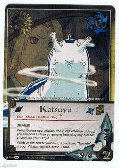 Katsuyu Super Rare 946 Naruto Card