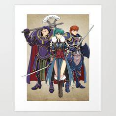 Fire Emblem - Blazing Sword Awakening by polarityplus on DeviantArt Fire Emblem Lyn, Fire Emblem Games, Fire Emblem Characters, Fantasy Characters, Anime Characters, Character Concept, Concept Art, Character Design, Costumes