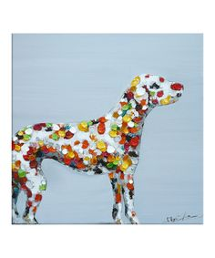 Look what I found on #zulily! Roscoe Hand Painted Canvas by Grandar Images #zulilyfinds