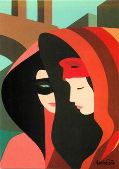 Amleto Dalla Costa Art Nouveau Postcard