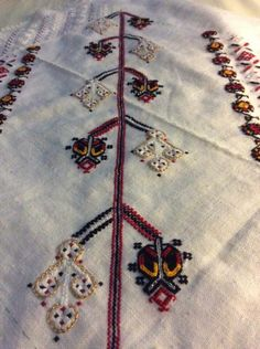Romanian blouse in the making