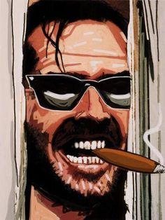 The Shining Cigar Art