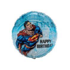 Superman Birthday Party Balloon