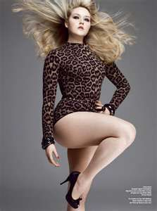 She is wearing that leopard leotard! Jealous! ;)