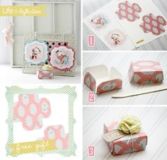 How To Make Gift Boxes - Modern Magazin - Art, design, DIY projects, architecture, fashion, food and drinks