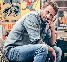 Matthias Schoenaerts — casamatthias:   Matthias Schoenaerts for Nina... Travis Fimmel, Mattias Schoenaerts, Dream Guy, Actors & Actresses, Hot Actors, Bearded Men, Man Crush, Most Beautiful Man, Gorgeous Men