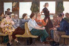 Дейнека Александр Александрович (1899-1969) «Стихи Маяковского» 1955