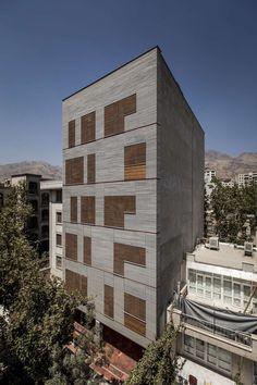 Andarzgoo Residential  Building  Architects: Ayeneh office Architect in Charge: Ali Dehghani & Ali Soltani & Atefeh Karbasi Graphics:Ali Karbasi Location: Te...