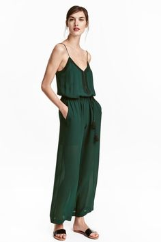 Embroidered jumpsuit | H&M