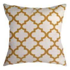 Colordrift+Lattice+Luxe+Decorative+Pillow