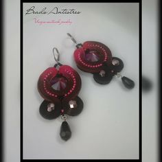 Beads Antistres soutache  9/2017 .... with my special color technique