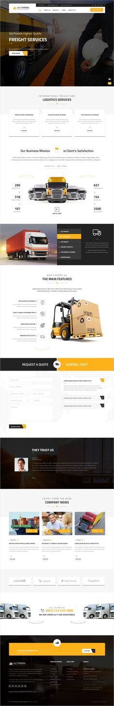 24/7 Express Cargo Services is a Multipurpose #Joomla #template suitable for #cargo, #logistics, trucking, transportation companies, warehouse and freight business website download now➩ https://themeforest.net/item/247-express-logistics-services-joomla/17101060?ref=Datasata