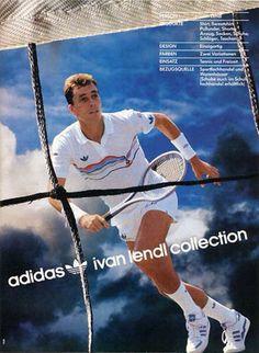 Ivan Lendl, adidas