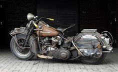 1948 Harley Davidson panhead.