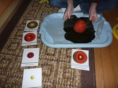 The Homeschool Den: Earth Science: Layers of the Earth Hands-on Activity