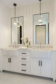61 Ideas For Bathroom Remodel Double Sink Style #bathroom #bathroomremodel #doublesink ~ aacmm.com