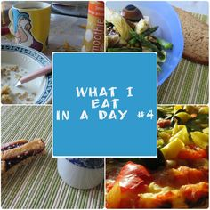 What I eat in a day #4 - Week end Spring Edition
