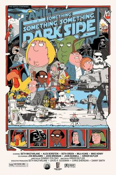 FAMILY GUY STAR WARS Trilogy Fan Posters  — GeekTyrant