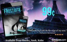 99 cents  #Paranormal #Romance #PNR  FrostBite  The Hunter Chronicles Book 1  Blurb: Jasmine Hunter is a rookie agent working for the covert Supernatural Department of Scotland Yard. Being kidnapped with a co-worker is the last thing shes expecting from only two months in a job she loves. She is even more unprepared for the sparks that fly between her and one of their captors especially when her unique senses are screaming he isnt human. Eric is a vampire deep undercover with centuries of…