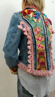 f9f6e0889 454 Best embellished images in 2019   Embroidery, Jackets, Coast coats