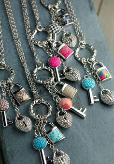 NEW Double-Length Charm Necklaces by Jilzara!