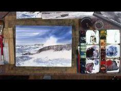 Les cours d'aquarelle de Dominique GIOAN à l'Atelier du passage