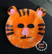 masque d 39 ours avec assiette en carton recherche google bricolage pinterest recherche. Black Bedroom Furniture Sets. Home Design Ideas