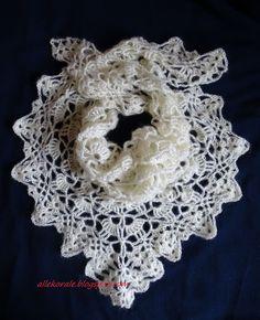 Allekorale hand made: Moherowa chusta