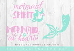Free Mermaid SVG, PNG, EPS & DXF by Caluya Design. Compatible with Cameo Silhouette, Cricut and other major cutting machines!Perfect for your DIY projects, Giveaway and personalized gift.