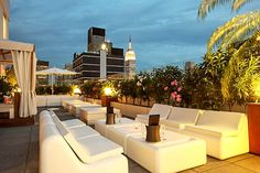 Sky Room in New York City: rooftop bar :-)