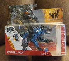 Transformers Age of Extinction STEELJAW 1 Step Changer action figure New Hasbro #Hasbro