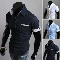 Short Sleeve Lapel Shirt
