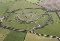 Late Bronze Age Hillfort, at Rathgall, Co. Wicklow, Ireland