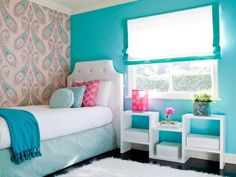 teenage-girl-small-bedroom-ideas-with-teal-colors-557a578bf20cd.jpg (1280×960)