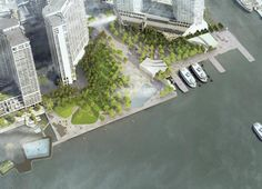 Overview of The Cloud Park, image courtesy of Stoss Landscape Urbanism, nARCHITECTS, ZAS Architects