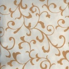 Cream with Beige Delano Scroll Rental Linen  #PartyMosaic