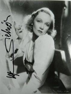 """Glamour is what I sell, it's my stock in trade."" Marlene Dietrich"