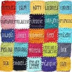 Temperature Afghan Knitting Pattern : 1000+ images about Mood/temperature crochet/knit scarf/blanket on Pinterest ...