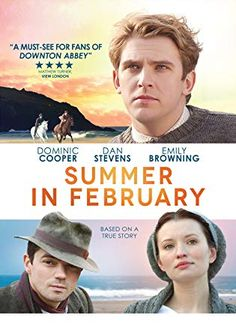 netflix movies : Summer in February: Dominic Cooper, Dan Stevens, Emily Browning, Christopher Menaul: Movies & TV Period Drama Movies, Period Dramas, Dan Stevens, Movies Showing, Movies And Tv Shows, Love Movie, Movie Tv, Prime Movies, Movies Worth Watching