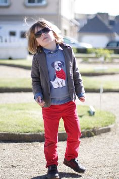 All his own work, boys clothing style