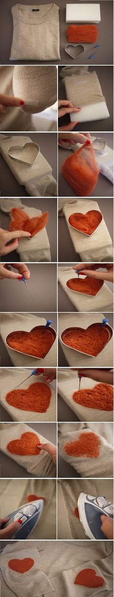 DIY Elbow Patch | diy craft TUTORIALS