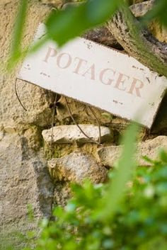 A potager is a French term for an ornamental vegetable or kitchen garden.
