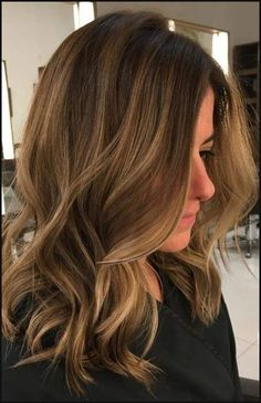 Lowlights und Highlights für Braun Haar für 2017 Smart Frisuren ... | Einfache Frisuren