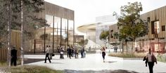 henning larsen architects win competition for ESS research facility