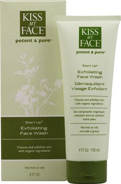 Kiss My Face Face Wash [Cruelty-Free] :)