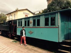 Old time classic trains cars in Kalamata. More stories in the upcoming episodes of the new season. Stay tuned!!! #yolenistaste #visitgreece #thecookingodyssey