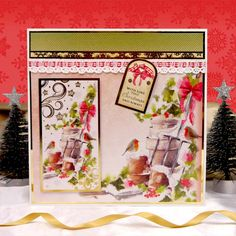 A Family Christmas by Hunkydory Crafts. Card made using 'Little Red Robin'…