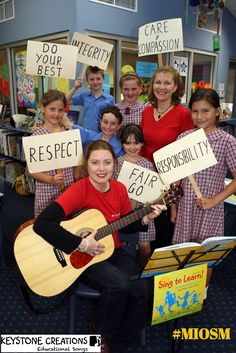 Keystone Creations primary school teaching resource education values based songs Values Education, Music Education, Teaching Music, Teaching Resources, Teaching Quotes, Teaching Tools, Teaching Ideas, Science Technology And Society, Music Classroom