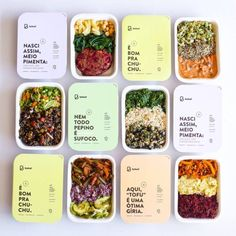 Keto Delivered - Artisan Goodies for Keto Foodies - Food: Veggie tables Salad Packaging, Takeaway Packaging, Food Packaging Design, Quick Healthy Meals, Healthy Eating Recipes, Food Design, Design Design, Delivery Comida, Delivery Food